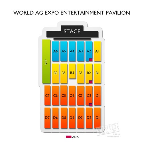 World Ag Expo Entertainment Pavilion