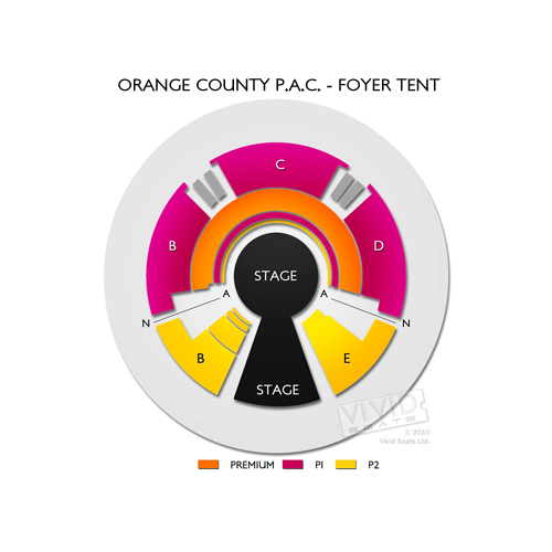 Orange County P.A.C. - Foyer Tent