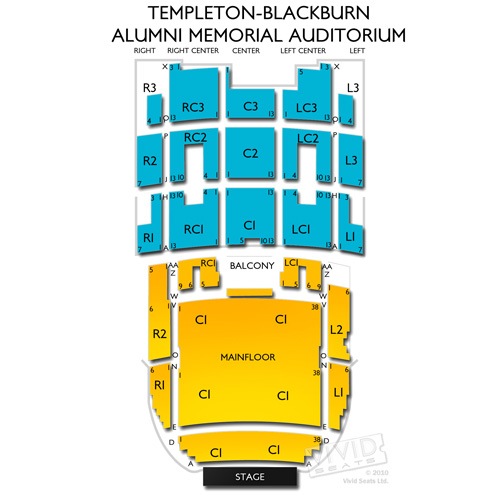 Templeton-Blackburn Alumni Memorial Auditorium