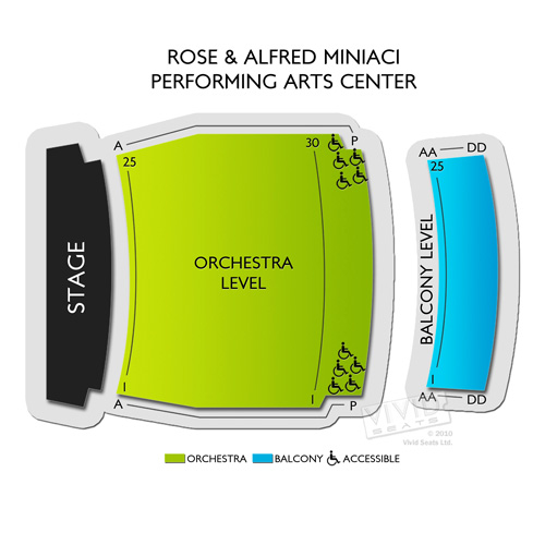Rose and Alfred Miniaci Performing Arts Center