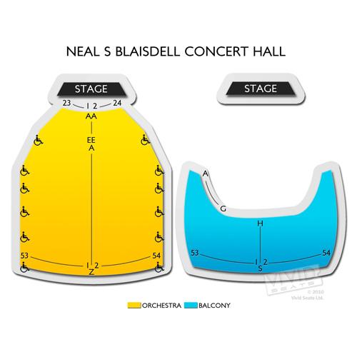 Neal S Blaisdell Concert Hall