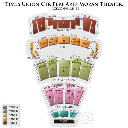 Times Union Perf. Arts-Moran
