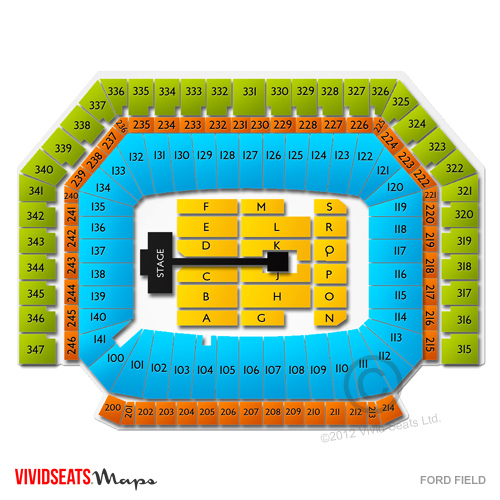 ford field detroit mi concert seating chart. Cars Review. Best American Auto & Cars Review