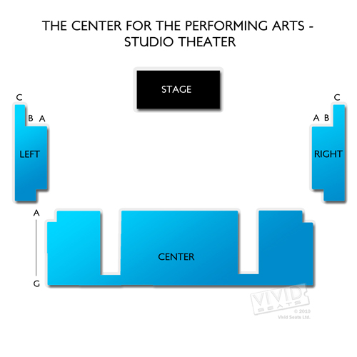 The Center for the Performing Arts - Studio Theater