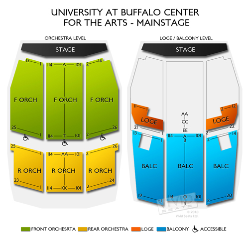 University at Buffalo Center for the Arts