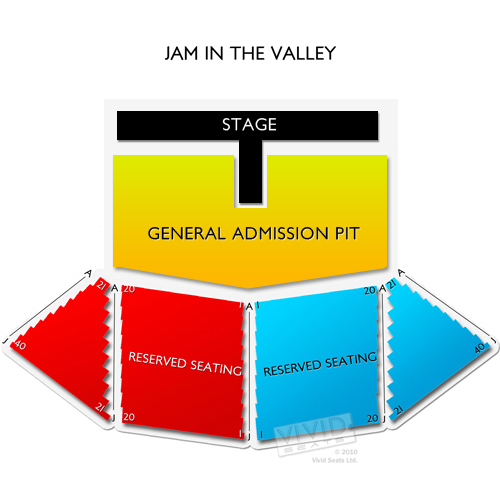 Jam In The Valley Grounds