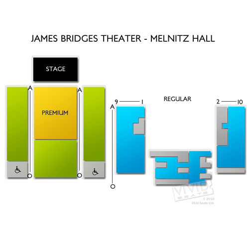James Bridges Theater - Melnitz Hall