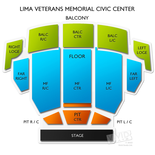Lima Veterans Memorial Civic Center