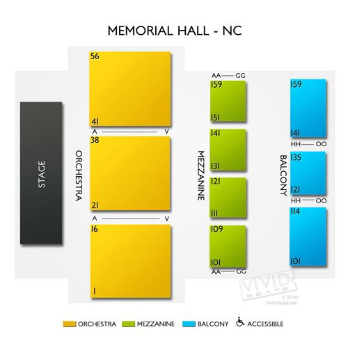 Memorial Hall - NC