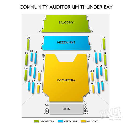 Community Auditorium Thunder Bay
