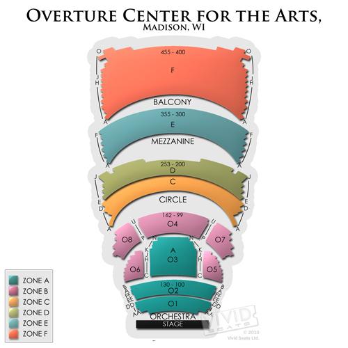 Overture Center - Overture Hall
