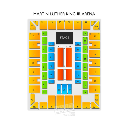 Savannah Civic Center - Martin Luther King Jr Arena