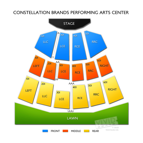Constellation Brands Performing Arts Center