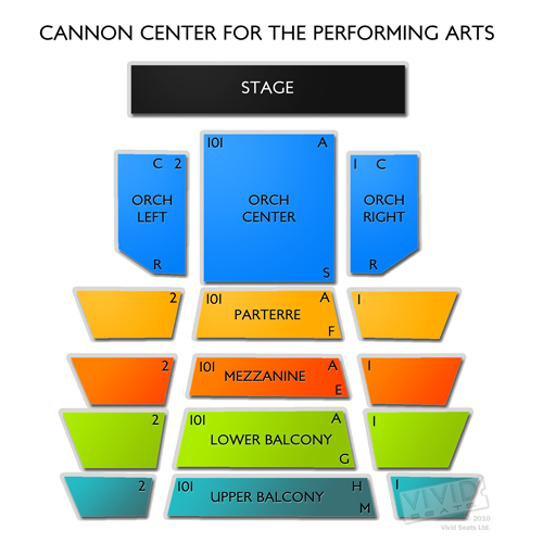 Cannon Center for the Performing Arts