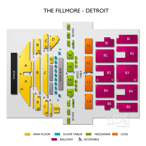 The Fillmore - Detroit