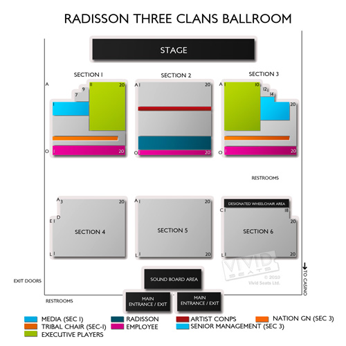 Radisson Three Clans Ballroom