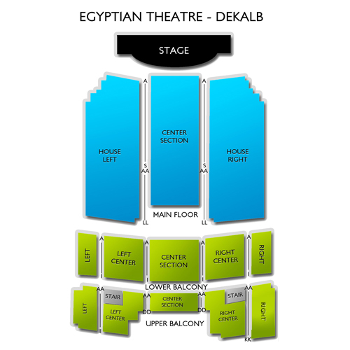 Egyptian Theatre - DeKalb
