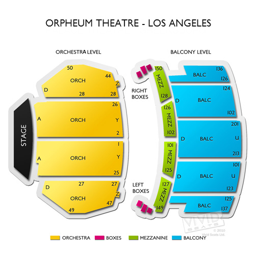 Orpheum Theatre - Los Angeles