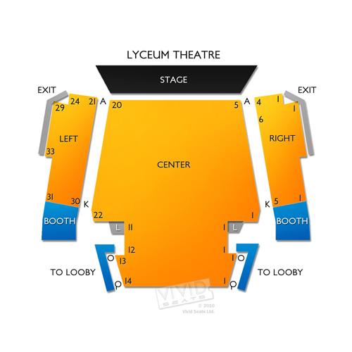 Lyceum Theatre - CA
