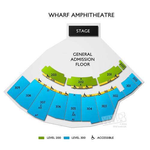 Amphitheater at The Wharf