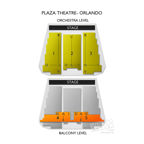The Plaza Theatre - Orlando