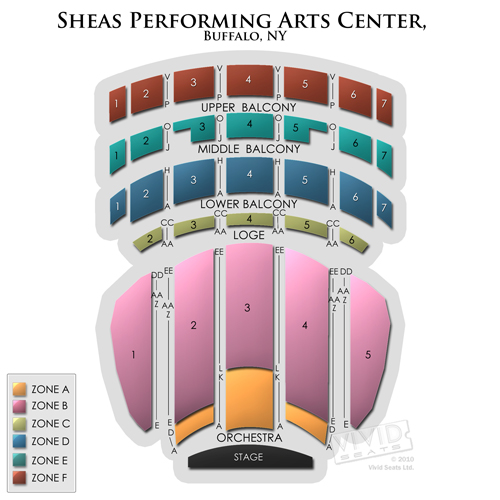 Sheas Performing Arts Center