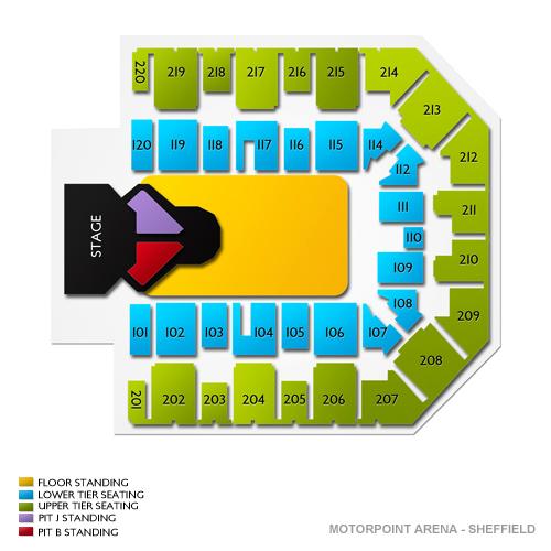 Motorpoint Arena - Sheffield