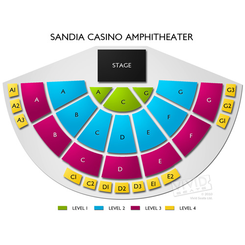 Sandia casino amphitheater seating gran casino royale