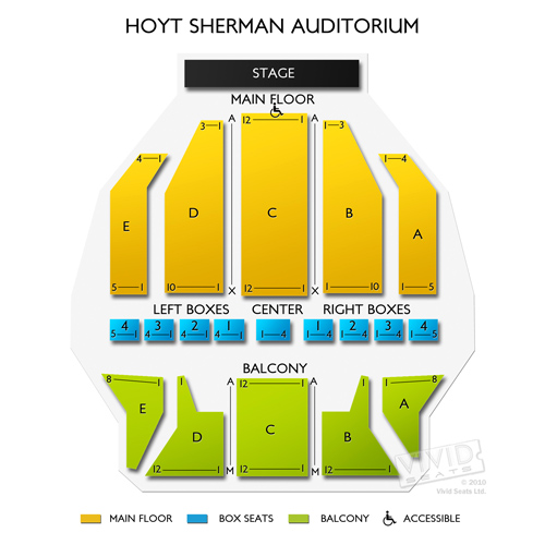 Hoyt Sherman Auditorium
