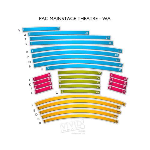 PAC Mainstage Theatre - WA