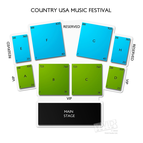 Country USA Music Festival Grounds