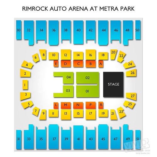 Rimrock Auto Arena at Metra Park