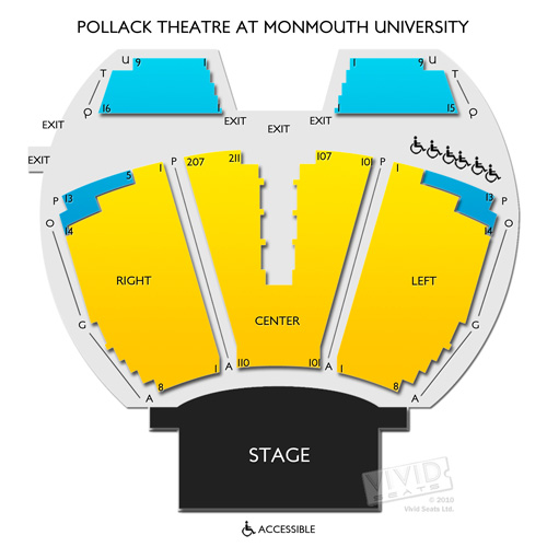 Pollak Theatre at Monmouth University