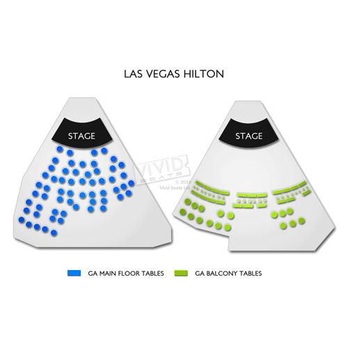 Las Vegas Hilton - Shimmer Cabaret