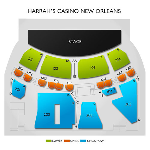 Harrahs Casino New Orleans