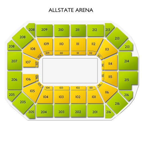allstate arena concerts seating guide for live music in rosemont