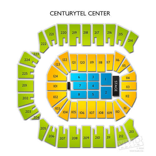 CenturyLink Center - Bossier City