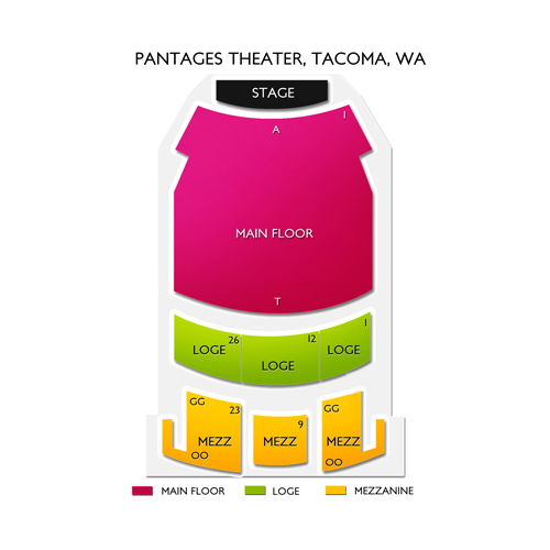 Pantages Theater - WA