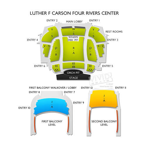 Luther F Carson Four Rivers Center