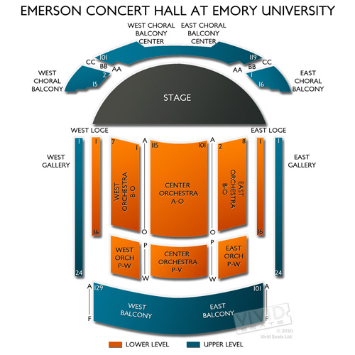 Emerson Concert Hall at Emory University