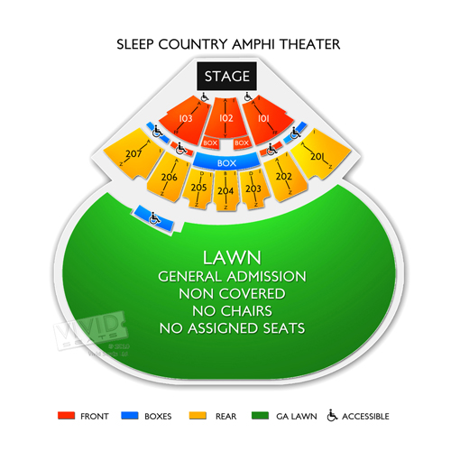 Sleep Country Amphitheater