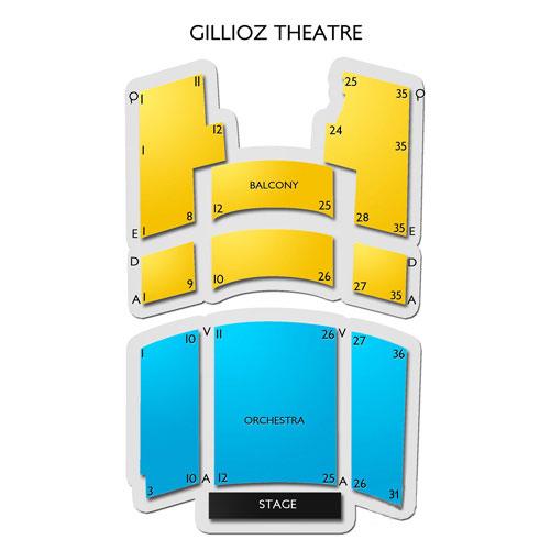 Gillioz Theatre Seating Chart Vivid Seats