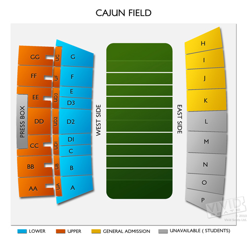 U. SW LA-Cajun Field