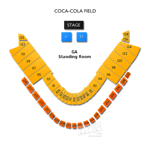 Coca Cola Park Seating Chart