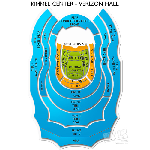 Kimmel Center - Verizon Hall