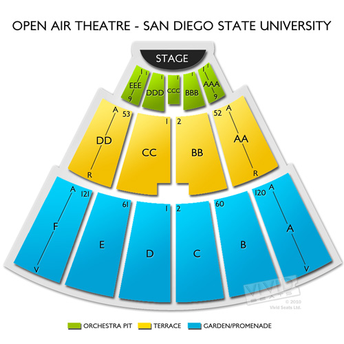 Open Air Theatre - San Diego State University