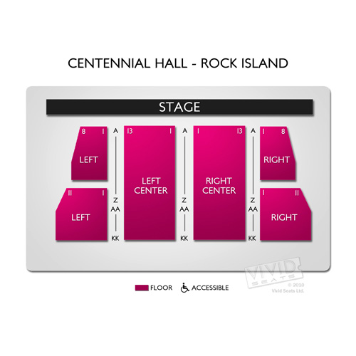 Centennial Hall - Rock Island