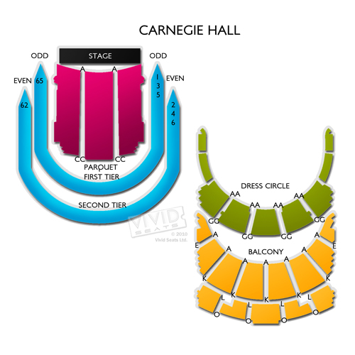 Carnegie Hall - Isaac Stern Auditorium
