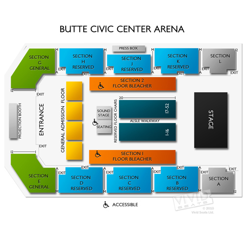 Butte Civic Center Arena