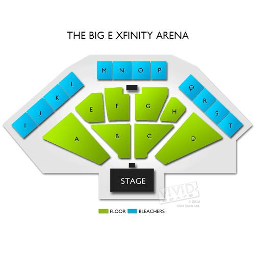 Xfinity Theater Seating Chart Xfinity Arena At Everett